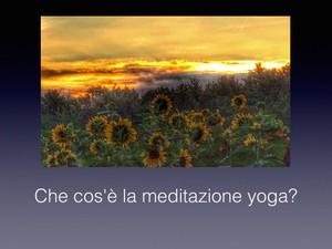 Impara la Meditazione Yoga