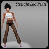 Straight Leg Pants F