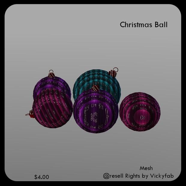 Christmas Balls Mesh