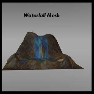 Waterfall Mesh