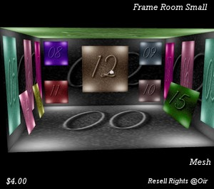 Frame Room Small