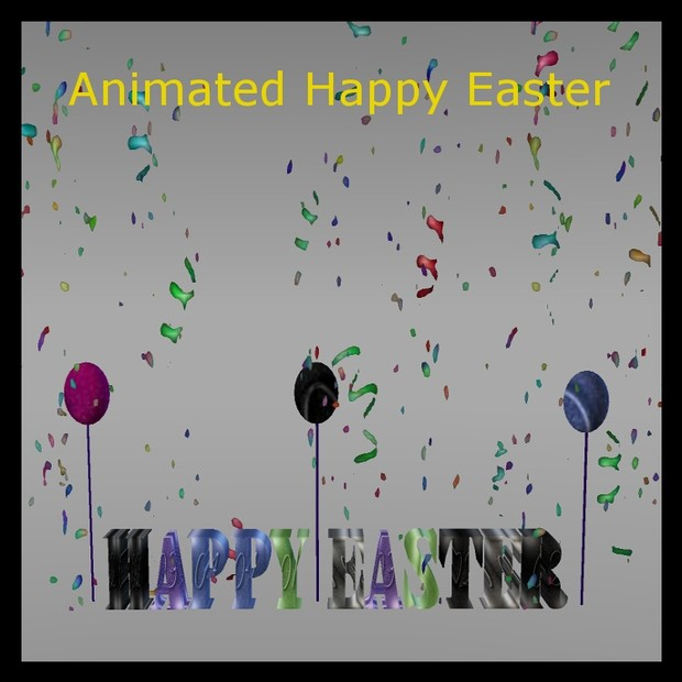 Happy Easter Animated
