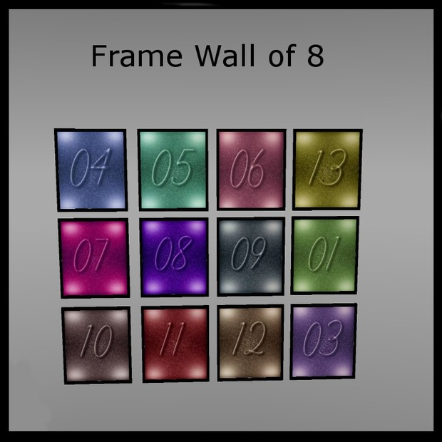Frame wall of 8