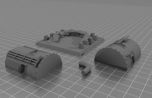 Single-Unit Military Bunker