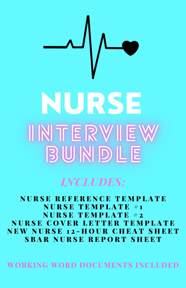 NURSE INTERVIEW SERIES BUNDLE ♡