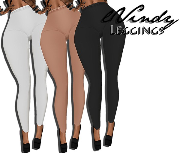 3 color Leggings SiS3d