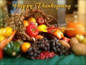 Happy Thanksgiving Wallpaper, 1600 X 1200