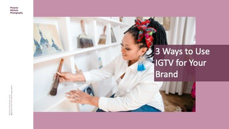 3 Ways to Use IGTV for Your Brand - Zoom Replay