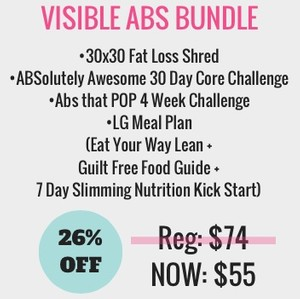 Black Friday Visible Abs Bundle