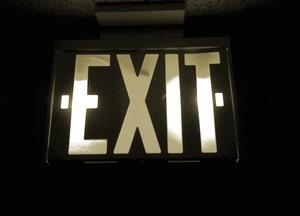 Exit the Premises