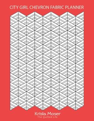 City Girl Chevron Fabric Planner