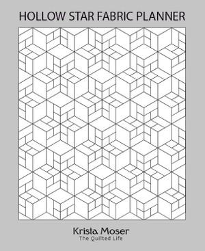Hollow Star Fabric Planner