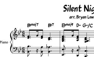 Silent Night - piano sheet music
