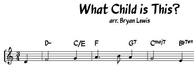 What Child is This? - lead sheet