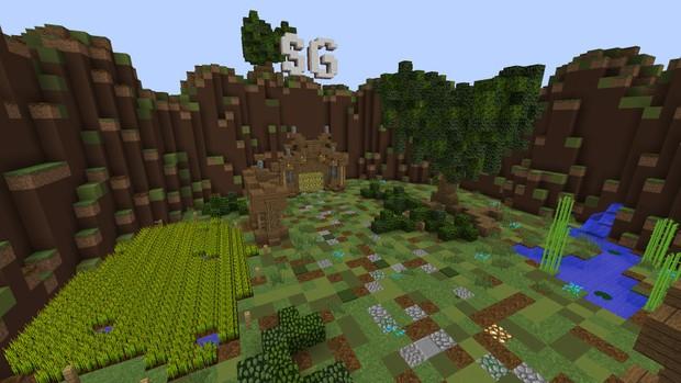 Minecraft Survival Games LobbySpawn GingerBuilds Shop - Minecraft spiele lobby