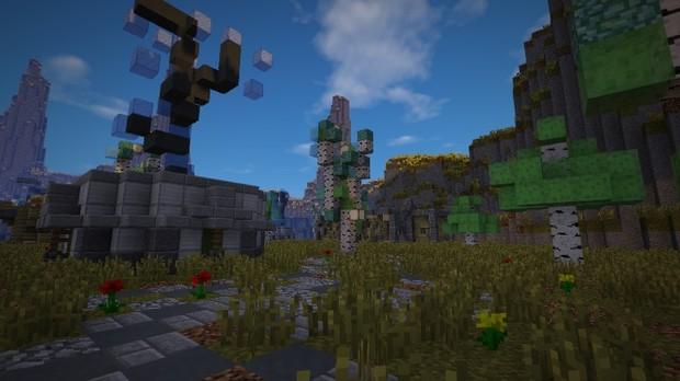 Minecraft OITC PvP Map: radiation