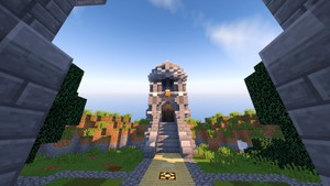 Minecraft Modern Hub (Small)  $1.50