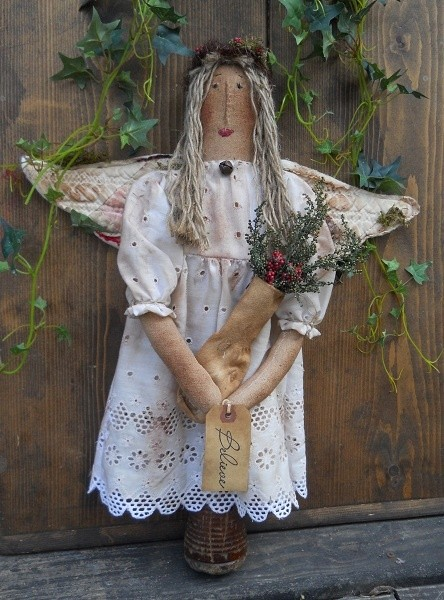 #325 prim angel makedo e pattern