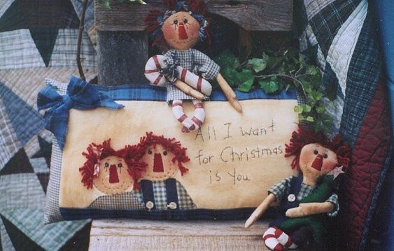 #256 all i want for christmas e pattern