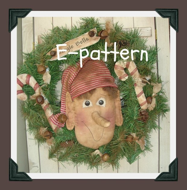 #403 Christmas elf e pattern