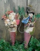 #427 christmas cones e pattern