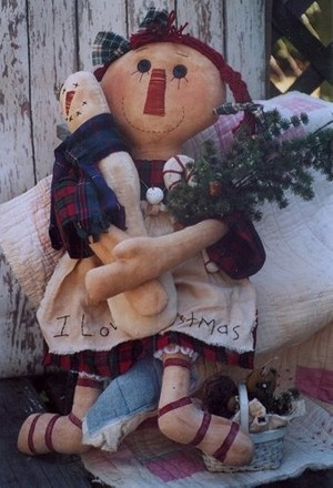 #247 Holiday Annie e pattern