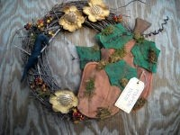 #423 Pumpkin Patch wreath e pattern