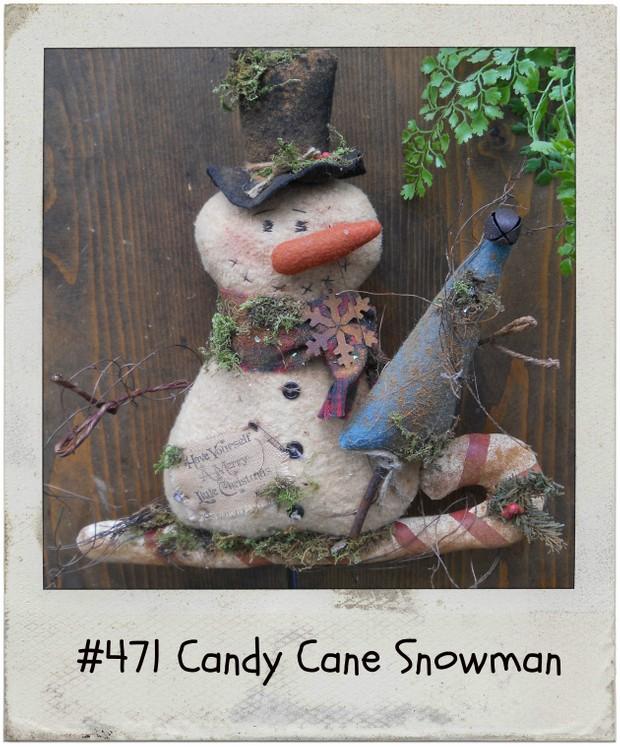#471 Homespun Christmas e pattern
