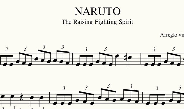 NARUTO - The Raising Fighting Spirit