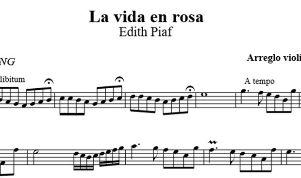 La vida en Rosa - Edith Piaf