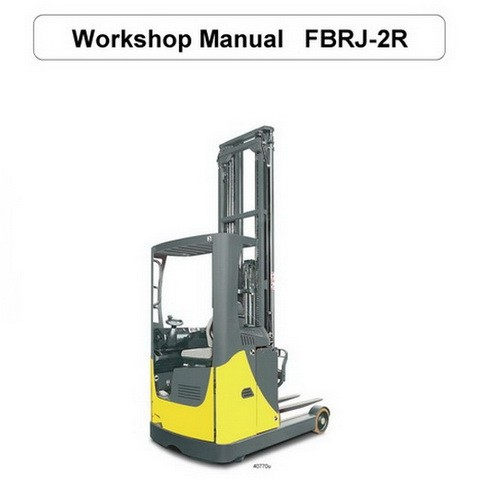 Komatsu Forklift FBRJ-2R Service Repair Workshop Manual - 8054349