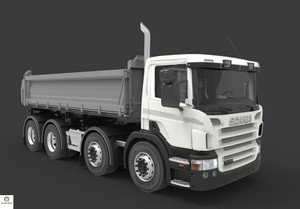 Scania P410 Tipper