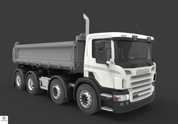 Scania P410 Tipper