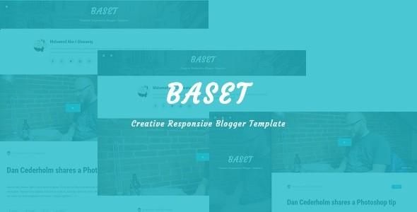 Baset - Responsive Personal Blog Template for Blogger