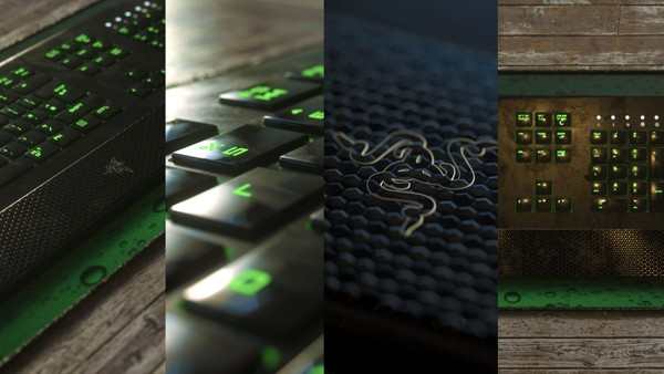 Razer Deathstalker 3D Model