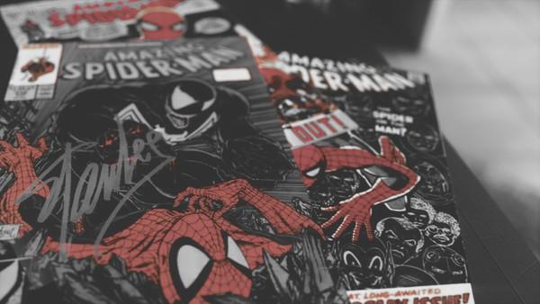 Comic Book Octane Scene