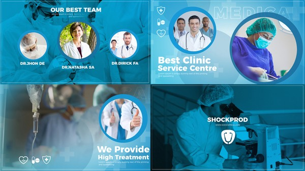Template Medical Slideshow sony vegas 12 13 14 15 And Above