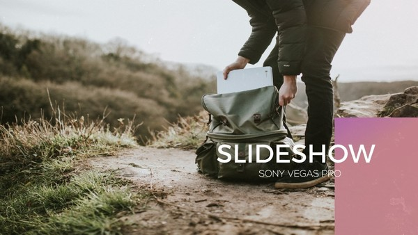 Template Pixel Slideshow sony vegas 12 13 14 15