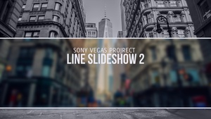 Template Line Slideshow 2 sony vegas 11 12 13