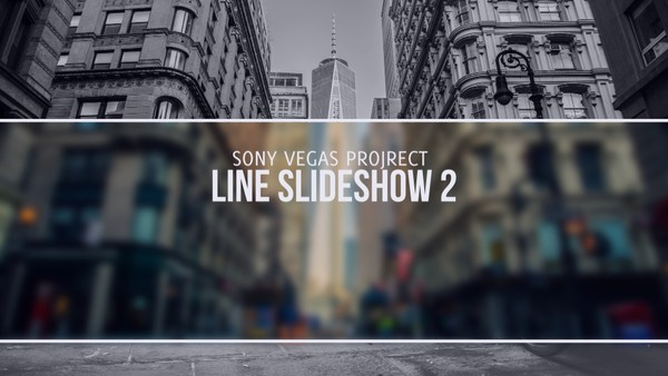 Template Line Slideshow 2 sony vegas 11 12 13 And Above