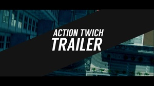 Template Action Twitch Trailer sony vegas 12 13 14
