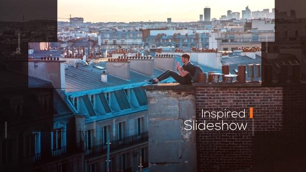 Template Inspired Slideshow sony vegas 12 13 14 15