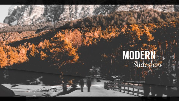 Template Clean Modern Slideshow sony vegas 12 13 14 15 And Above