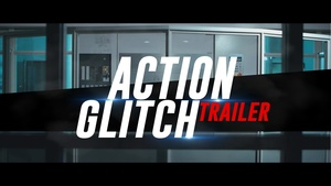 Template Action Glitch Trailer sony vegas 12 13 14