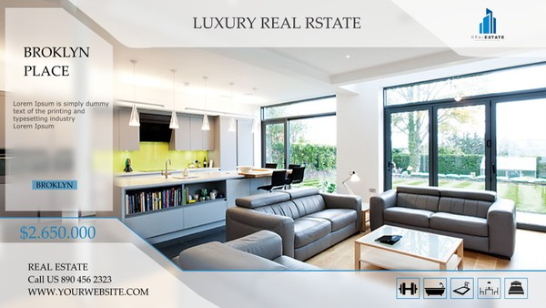 Template Luxury Real Estate sony vegas 12 13 14 15 And Above