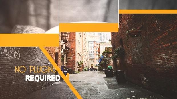 Template Photo Slideshow II sony vegas 12 13