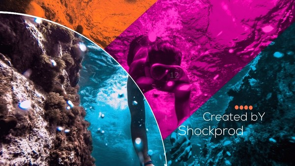 Template Colorfull Slideshow sony vegas 12 13 14 15