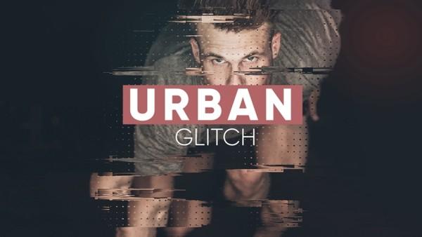 Template Urban Glitch Opener sony vegas 12 13 14 15