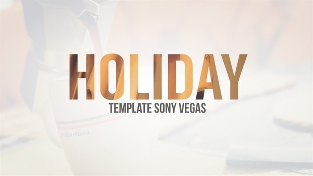 Template The Summer sony vegas 12 13