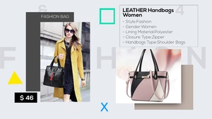 Template Fashion Product Promo sony vegas 12 13 14 15